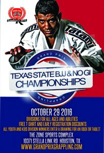 Texas State BJJ & No Gi Championships @ The Zone Sports Complex